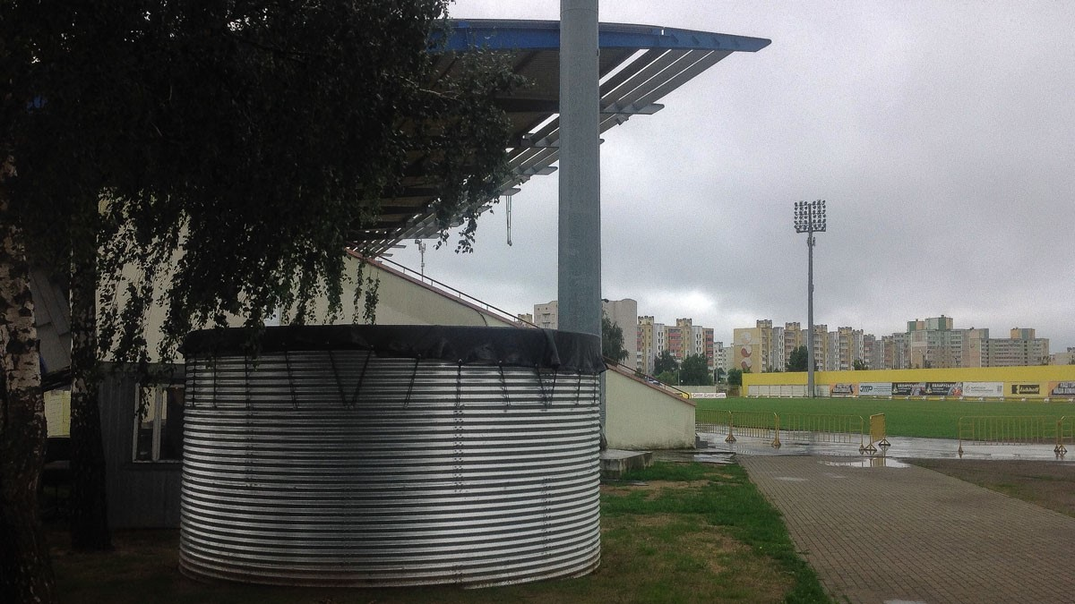 watertank football stadium